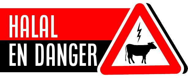 Logo halal en danger. préserver le hala en belgique, et surtout le droit de s'entrainer à l'égorgement
